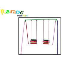 Balanço Infantil 02 Lugares - Brinquedo, Carrossel, Parque