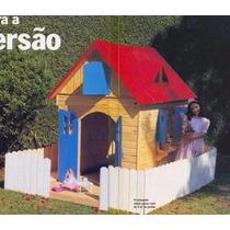 Projeto Casinha De Boneca Para Crianças 4m Quadrados Pt-br