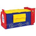 Baú Infantil Colorido Organizador Caixa Brinquedo Criança