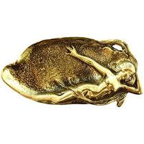 Saboneteira Sereia - Bronze Maciço (luxo)