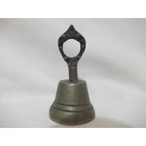 B. Antigo - Sino Ou Sineta De Mesa Em Bronze