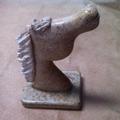 Escultura Cavalo Pedra Marmore