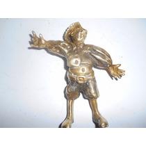 Escultura Roupa Típica De Holandês Em Bronze Estatua