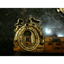 Puxador Espelho P. Chaves Bronze 3,5 Cmts,delicadissimo.