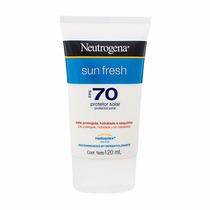 Protetor Solar Neutrogena Sun Fresh Fps 70 Corpo 120ml