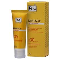 Protetor Facial Roc Minesol Fps30 Actif Unify 50g