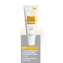 Phase Block Fps50+ 100g Protetor Solar Sem Perfume
