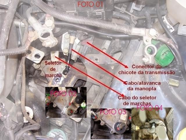 Conserto do cabo do seletor de marchas Zafira, Vectra, Astra ... Bucha-cabo-seletor-marchas-cambio-automatico-astra-vectra-518701-MLB20398281375_082015-F