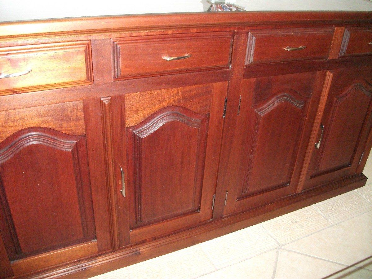 Buffet Em Madeira Maciça (mogno) R$ 1.500 00 no MercadoLivre #AC611F 1200x900