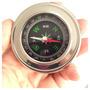 Bússola De Bolso Pocket Compass Aço Inoxidável Fácil Manejo