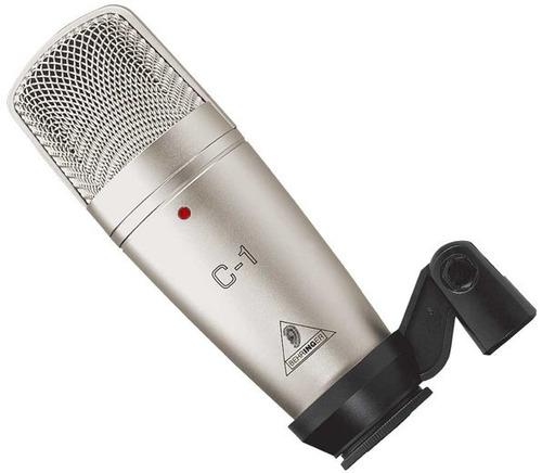 C1 Microfone Condensador Behringer C 1 P/ Estudio C-1