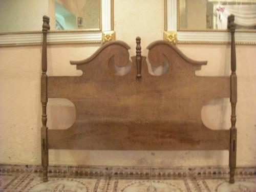 Cabeceira de cama de casal estilo colonial r 600 00 - Camas estilo colonial ...