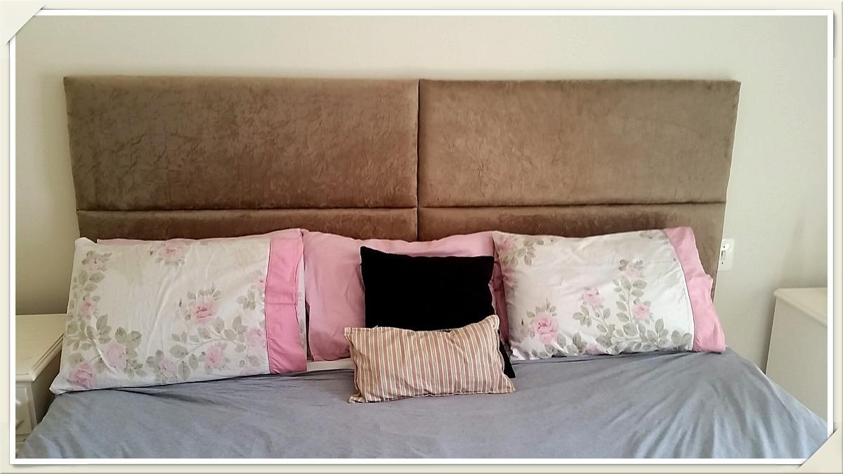 Cabeceira painel cama box casal padrao queen king r 229 for Tipos de camas queen