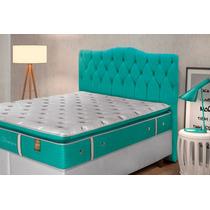 Cabeceira Casal Luxury P/cama Box 1,40 Larg