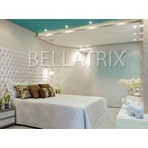 Cabeceira Luxo Bellatrix 2.00 X 1.20m Para Cama Queen