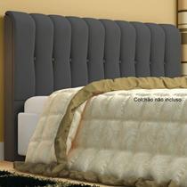 Cabeceira Kiara Para Cama Box King Size 195 Cm - Bremol
