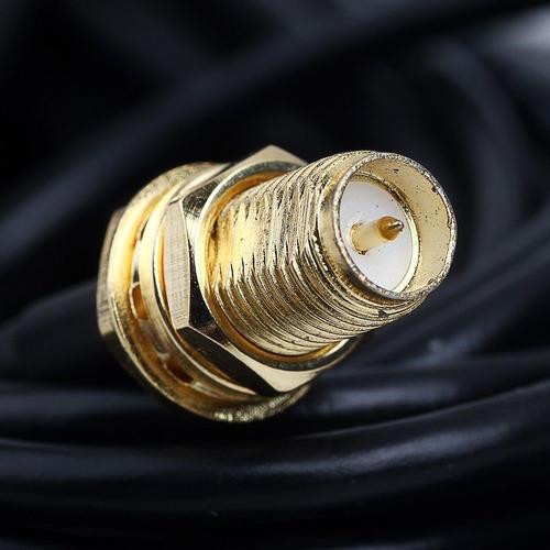 Cabo Extensor Roteador Extensão Antena Rp-sma C/ 3 Metros