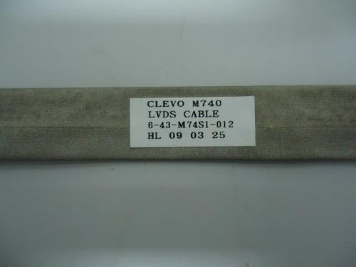 Cabo Flat Lcd Positivo Premium Unique Sim+ 6-43-m74s1-012