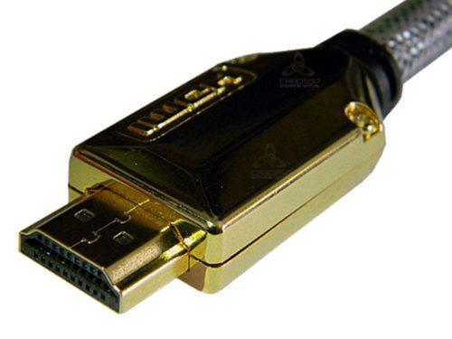 Cabo Hdmi 1.4 Premium 5,00 Metros C/conectores Destacaveis