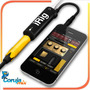 Amplitube Adaptador De Guitarra Irig Para Iphone Ipad Ipod