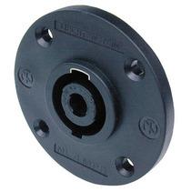 Plug Conector Speakon De Painel 4 Polos Neutrik Nl4mpr Novo
