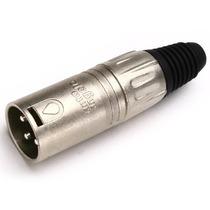 Conector Plug Xlr Canon Santo Angelo Macho De Linha L3mnn01