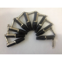 Conector Ou Plug Csr P10 Em L C/trava - Kit Com 10 Unidades