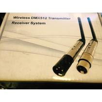 Dmx Wireless 2,4ghz Trasmissor Ou Receptor Sem Fio