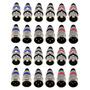 Conector Plug Canon Xlr Macho Femea Microfone Kit 12 Pares