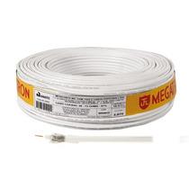 Fio Antena Coaxial Comum 67% Malha 100m