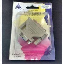 Adaptador Db9f X Db25f Para Mouse Ou Modem