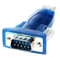Cabo Adaptador Usb 2.0 Serial Conversor Rs232 Db9 9 Pinos