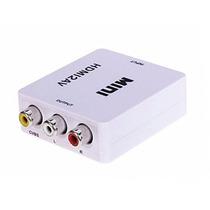 Conversor De Hdmi P/ Rca Av Audio E Video Hdv-m610