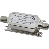 Amplificador De Sinal/sat 20 Db 950-2400 Mhz - Top Quality