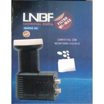 Lnb Duplo Universal Banda Ku, Lnbf Para Canais Hd