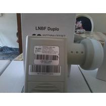 Lnb Duplo Banda Ku Universal Cabletech \ Brasilsat Hd