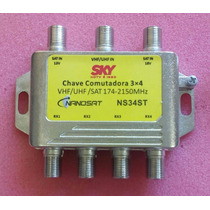 Chave Comutadora 3x4 - Diplexer - Divisor 20pçs