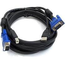 Cabo Usb Chaveador Kvm Switch D-link Dkvm-cu 4u Servidor Vga