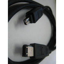 Cabo Firewire Ieee 1394 4x6 Pinos- Filmadora Sony, Jvc,canon