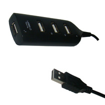 Mini Hub Usb 4 Portas 2.0 1.1 Ideal P/ Pc Notebook E Tablet