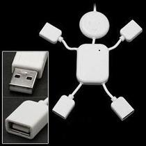 Mini Hub Usb 2.0 Menino Funny Kid 4 Portas Notebook E Pc