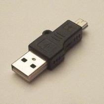 Adaptador Usb Macho X Mini Usb Macho 5 Pinos