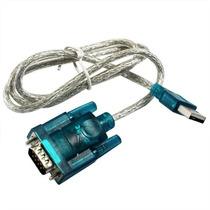 Cabo Adaptador Usb 2.0 Serial Conversor Rs232 Db 9 Pinos
