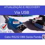 Cabo Rs232 Db9 Null Femea X Usb Recovery (para Notebook) !