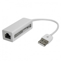 Mini Placa De Rede Usb Ethernet 10/100 Adaptador Rj-45 Usb