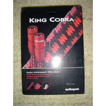 Audioquest King Cobra Xlr Balanceado Com 1,00 Metro