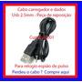 Cabo P/ Relógio De Pulso Espião Espiao Espiã Spy Plug 2.5mm