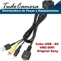 Cabo Usb / Av Md1 Sony Dsc-h3 H7 H9 H10 H50 N1 N2 P100 P200