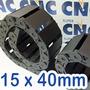 Esteira Porta Cabos 15mm X 40mm R38 - 1 Metro - Cnc