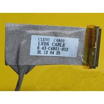 Cabo Flat Lcd A7520 6-43-c4801-052 Itautec Positiv0
